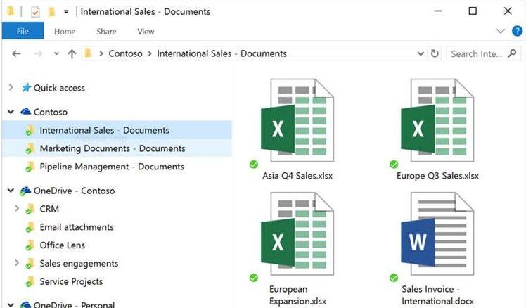SharePoint OneDrive Sync